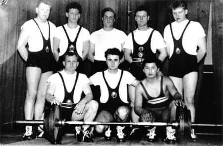 Sektion Gewichtheben, 1962