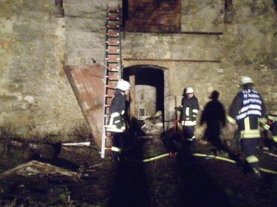 Gebäudebrand Hamersleben