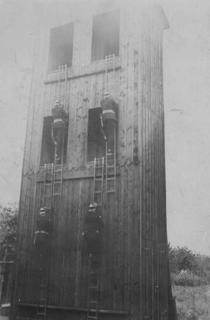 Steigeturm um 1910