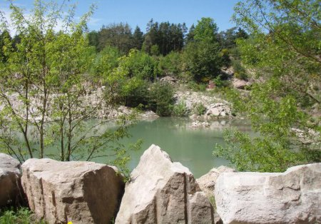 Steinbruch bei Worzeldorf - heute