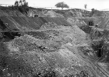 Abbau im Tagebau