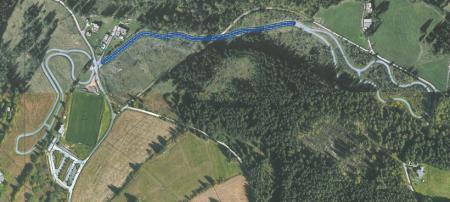 Rollerstrecke 950m