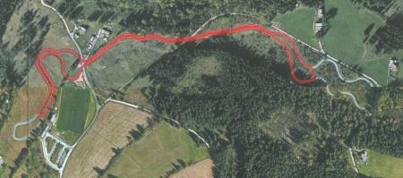 Rollerstrecke 1900m