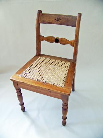 Stuhl, um 1860, Esche.jpg