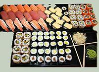 Sushi Platten für kleine oder große Veranstaltungen
