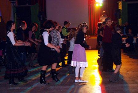 Tanz zum 20. Jubiläum des Fördervereins