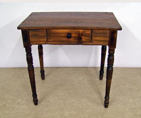 Tisch, um 1860, Kiefer, Buche, bäuerlich.jpg