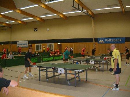 2012 Tischtennis fast rund um die Uhr