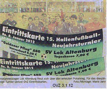 Traditionelles Fussball-Hallenturnier mit neuen Mannschaften Bild
