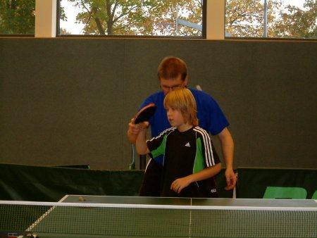 Tischtennistraining mit Axel 2