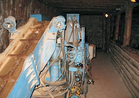 Trockengewinnungsmaschine