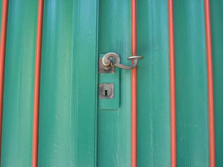 Tür mit original Anstrich