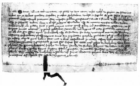 Urkunde von 1317