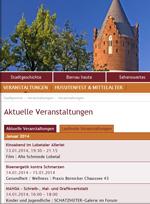 Der Veranstaltungskalender der Stadt Bernau bei Berlin