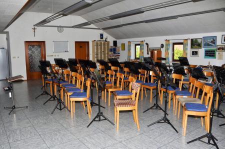 Vereinsheim Blindheim Innenansicht 1