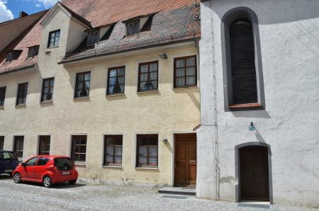 Vereinsheim Höchstädt Außenansicht