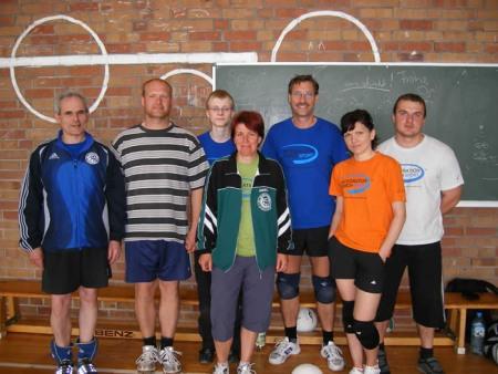 Volleyball Mannschaft (2)