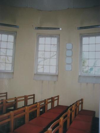 Deckengewölbe vor der Restaurierung