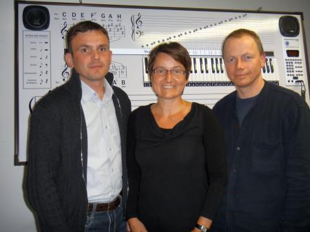 Der Vereinsvorstand: Sven Assmann, Britta Kremke, Udo Bensler (v.l.)