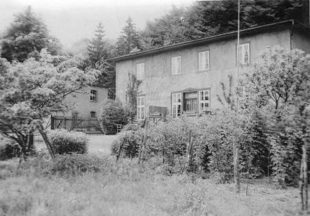Das Wohnhaus im Waldwinkel