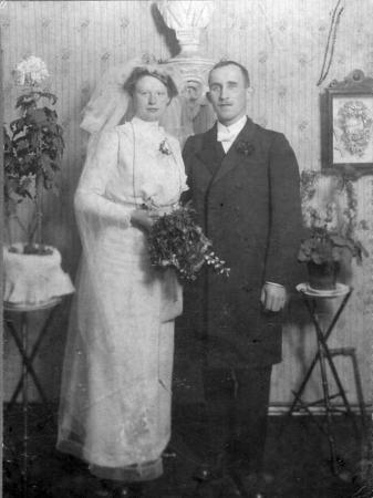 Hochzeit Hermann Westphal (vor 1914)