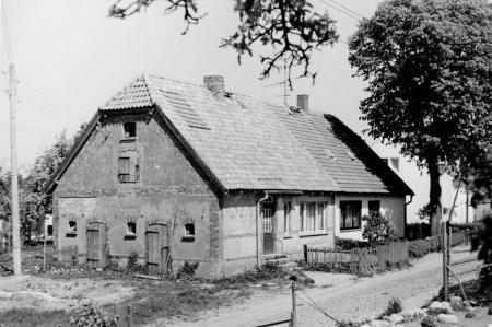 Haus 38/37 (früher Katen zu Gehöft Nr. 1), Aufnahme 14.5.1988