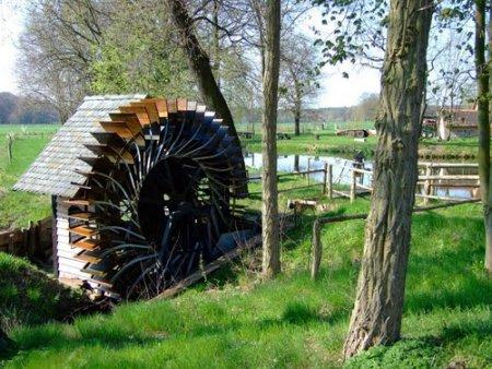 Wasserrad Schopsdorf