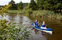 Wasserwandern Kanu