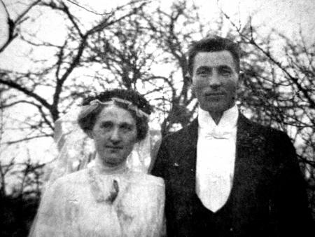 Bahnhofsgastwirt Jobst Heinrich Wedekind und seine Frau Hedwig, geb. Behrmann