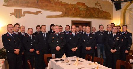 Wehrleitertreffen Stadtfeuerwehr Landsberg November 2012
