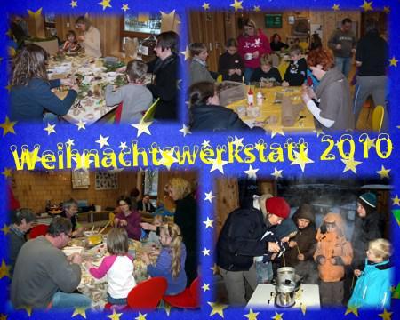 Collage 2 Weihnachtswerkstatt 2010