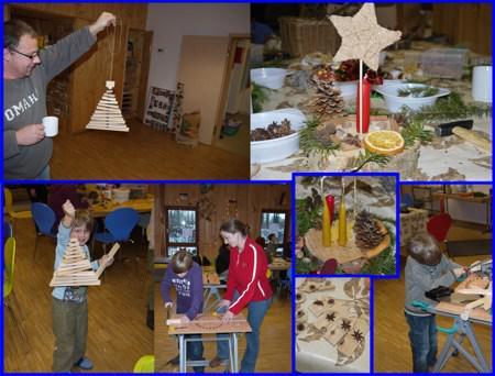 Collage Weihnachtswerkstatt 2010