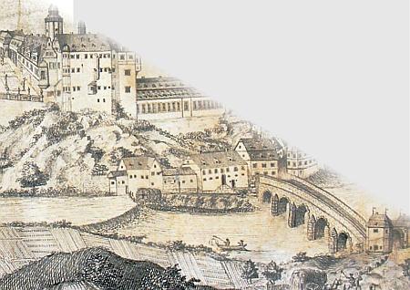 Weilburg 1778, Zeichnung von A.Zirnburg