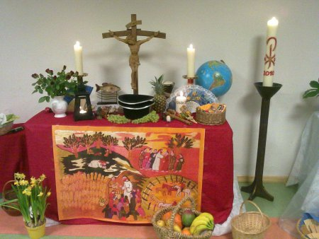 Weltgebetstag 2011 - unser Altar