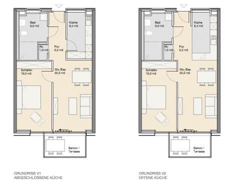 Wohnungstyp eins