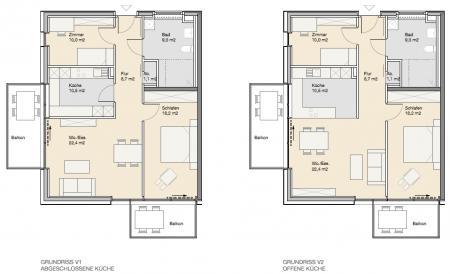 Wohnungstyp zwei