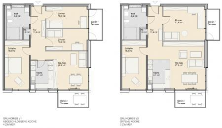 Wohnungstyp drei