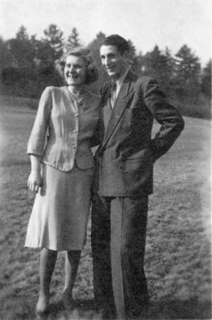 Wilhelm Kosegarten etwa 1940 mit seiner Freundin