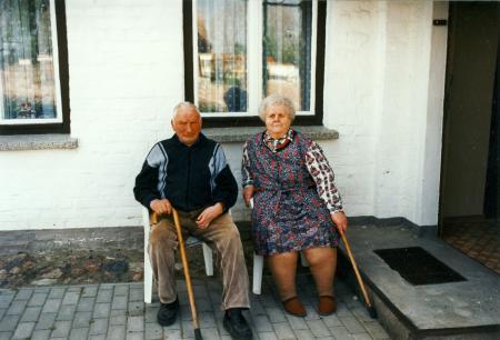 Willi und Elise Tübbicke (etwa 1995)