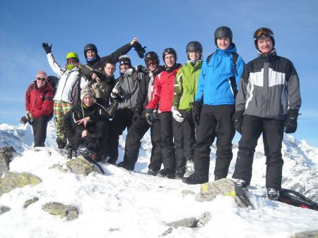 Schulfahrt Wintersport 2011