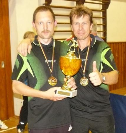 Wisentaturnier 2013 die Pokalsieger Tim und Swen