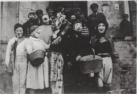 Zampern in Fehrow in der 1. Hälfte des 20. Jahrhunderts