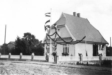 Das Wohnhaus des Bürgermeisters Ziegler Fritz-Reuter-Straße 6 (Aufnahme von 1930)