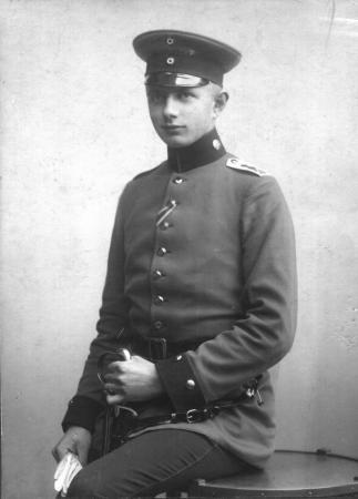 Franz Ziegler als Offizier im I. Weltkrieg (1)