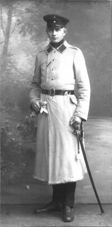 Franz Ziegler als Offizier im I. Weltkrieg (2)