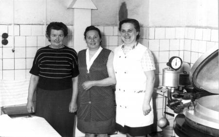 Von links: Erna Briese, Hilde Chrenko und Veronika Neubauer