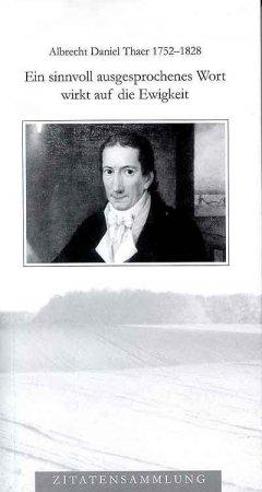 Zitatensammlung Albrecht Daniel Thaer