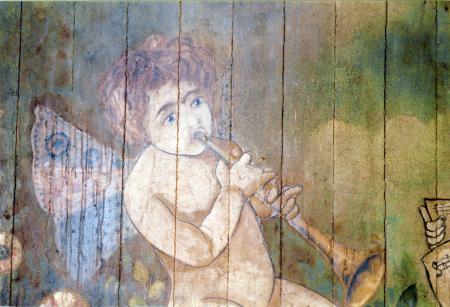 Malerei oberhalb der Zwischendecke (2)