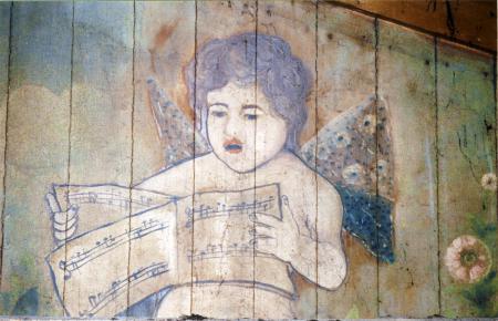Malerei oberhalb der Zwischendecke (3)