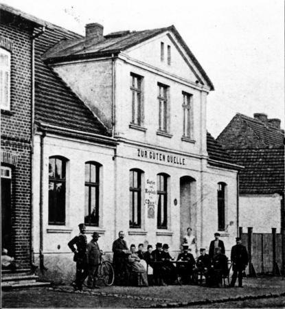 Das Stammlokal des Männer-Turn-Vereins von Carl Daewel (um 1899)